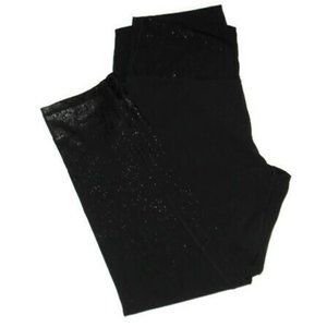 Zobha Shine On Legging Black Stretch Pants